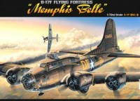 "Сборная модель Academy 1/72 B-17F Flying Fortess ""Memphis Belle"""