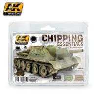 AK Interactive AK138 Набор CHIPPING ESSENTIALS WEATHERING SET