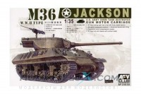 M-36 Jackson Tank Destroyer w/90mm Gun Motor Carriage