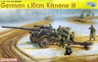Dragon 6411 German s.10cm Kanone 18