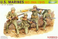 Dragon 6408 U.S. Marines Iwo Jima 1945
