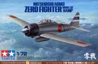 Tamiya 60784 Mitsubishi A6M3 Zero Fighter Model 32 (Hamp)