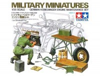 Tamiya 35220 German Kübelwagen Engine Maintenance Set