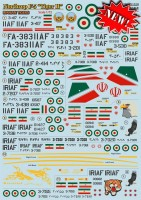 "Декали Print Scale Iranian Northrop F-5 ""Tiger II""  Wet decal"
