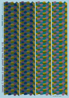Декали Print Scale Lozenge C. German 5 color printed fabric Wet decal