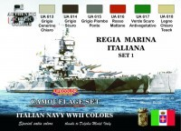 Набор красок Life Color -  REGIA MARINA ITALIANA SET #1
