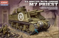 САУ M7 PRIEST (U.S. HOWITZER MOTOR CARRIAGE)