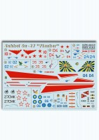 Декали Print Scale Sukhoi Su-27  Wet decal