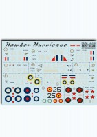 Декали Print Scale Hawker Hurricane Wet decal