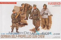 German Self-Propelled Gun Crew